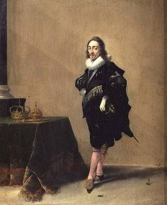 Hendrick Pot, a small portrait of Charles I (1631).