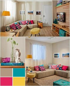 Spread Colors and Life in Your Neutral Living Room 1