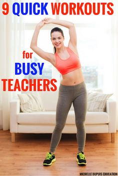 Workouts are hard, especially with busy schedules. Maintain your health and try out these quick workout videos that are teacher-approved! High Intensity Cardio Workouts, Quick Workouts, Weekly Workouts, Primary Teaching, Primary Classroom, Classroom Ideas, Classroom Activities, Creative Teaching, Teaching Ideas