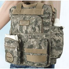 Daddy's Camouflage Military Diaper Bag