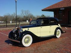 1936 Rolls Royce Sedanca Deville