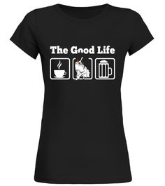 """# The Good Life: Coffee, Papillon and Beer! Dog Lover T-Shirt .  Special Offer, not available in shops      Comes in a variety of styles and colours      Buy yours now before it is too late!      Secured payment via Visa / Mastercard / Amex / PayPal      How to place an order            Choose the model from the drop-down menu      Click on """"Buy it now""""      Choose the size and the quantity      Add your delivery address and bank details      And that's it!      Tags: Great Dog Lover Tee…"""