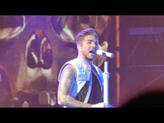 Adam Lambert - Intro/Evil In The Night/For Your Entertainment at Tokyo D...