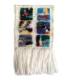 Vignette Tapestry - Wall hanging, tapestry, woven wall art, weaving