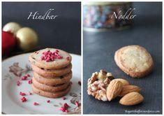 Jule specier med nødder eller hindbær