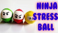 DIY voorkids: Ninja stress ballen