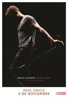 TOUR TERRAL. Tres noches en las ventas, con Pablo Alborán en el cine - http://www.valenciablog.com/tour-terral-tres-noches-en-las-ventas-con-pablo-alboran-en-el-cine/