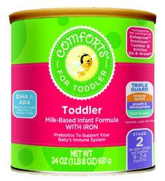 #ComfortsForBaby Toddler Formula #toddler Toddler Food, Toddler Meals, Powdered Water, Toddler Development, Baby Essentials, Immune System, Nutrition, Child Development, Baby Foods
