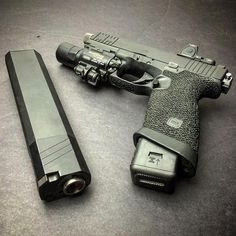 Keep calm and glock on. - Well you have your glocks, and then you have THIS...