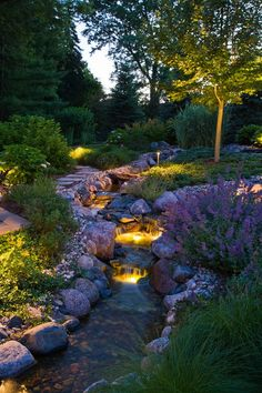 Contemporary-Mini-Waterfall-Garden-Patio-with-Lighting-Style.jpg