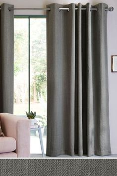 Buy Mini Geo Eyelet Curtains from the Next UK online shop