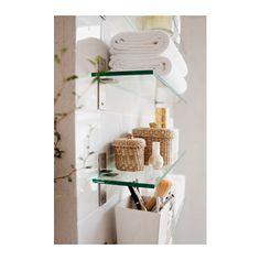 "For specimin jars? GRUNDTAL Glass shelf - -, 23 5/8 "" - IKEA"
