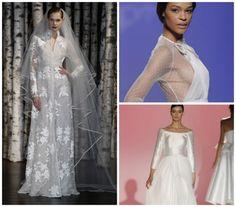 Langarm-Brautkleider sind der Trend 2015! Sehen Sie doch selbst …