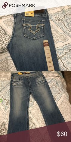 35d8cf83dfc NWT Big Star Remy Low Rise Boot Cut Jeans NWT bootcut low rise jeans. Bought