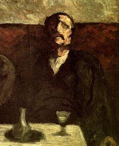 Honore Daumier paintings, plastic arts, visual arts, art, impressionism, orientalism, realism, romanticism