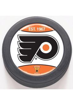 Philadelphia Flyers- Flyers Hockey Puck http://www.rallyhouse.com/shop/philadelphia-flyers-philadelphia-flyers-flyers-hockey-puck-575926 $6.99