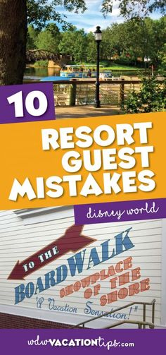 Not everyone picks up on all the magic these special hotels have to offer. If you are new to staying on Disney World property is are some Disney World resort guest mistakes that you are going to want to avoid!
