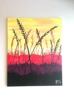 Field of Wheat Painting