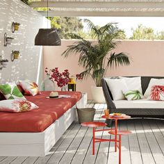 Boho Style Outdoor Space.