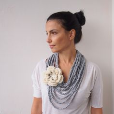 PDF crochet pattern Loop infinity cirlce scarfcowl by Accessorise