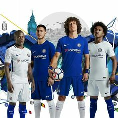 Home and away 2017/18 kit