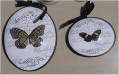 cadre et papillons