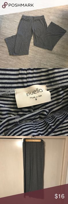 Anthropologie Loungewear Bottoms Ultra comfortable loungewear bottoms by Anthropologie brand Puella. Thick waistband and wide legs create a flattering fit! Good used condition. Made in USA 🇺🇸 Anthropologie Pants