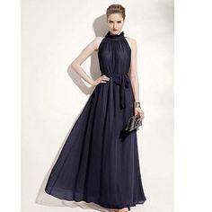 skirt Dress Solid Elegante donna Maxi con la cinghia Maxi Abiti A Top d0182b20f14