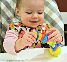 Nuby: Squirmy the Twiddle Worm Teether Review