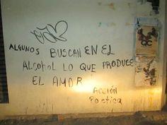 Algunos buscan en el alcohol lo que produce el amor