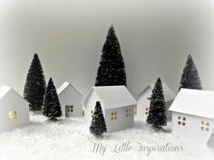 Paper House Lanterns Tutorial @ My Little Inspirations