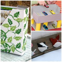 Think Outside of the (Cereal) Box: 15 Fun Recycled Crafts