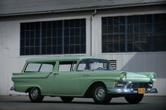 1957 Ford Ranch Station Wagon Boldride.com - Pictures, Wallpapers