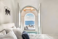 The accommodations on the magical Greek island of Santorini have just received an upgrade in the form of the full renovation and redesign of the Porto Fira Suites, realized by the design firm, Interior Design Laboratorium, and its director, Stamos Hondrodimos.