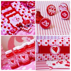 Valentines Party Printables Set by Shindig par shindigparties - Joyeuse Saint-Valentin! My Funny Valentine, Valentine Banner, Valentine Day Love, Valentine Day Crafts, Valentine Decorations, Holiday Crafts, Valentine Party, Valentine Treats, Love Surprise