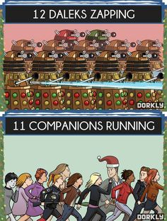 12 days of Doctor Who