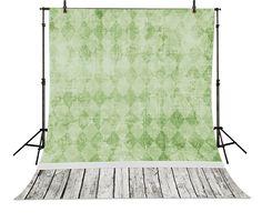 >> Click to Buy << Green  Wall Paper backdrops High-grade Vinyl silk cloth Computer printed newborn baby backdrop photo studio background #Affiliate