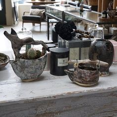 Beautiful collection of Anne Siems pots and an assortment of candles. Open Wednesday - Sunday from Wednesday, Planter Pots, Sunday, Candles, Shop, Collection, Beautiful, Instagram, Style