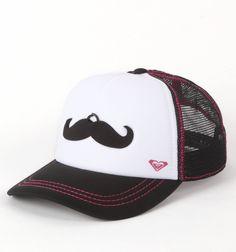 Roxy Mustache Trucker Hat - PacSun.com