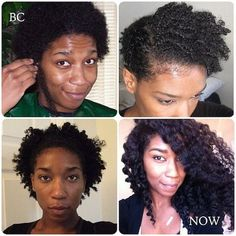 Have you recently big chopped? Are you currently transitioning? Are you in the awkward in-between natural stage? Whatever your situation, check out these inspirational photos of natural hair jou…