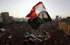 30/6/2013.Tahreer square ,Cairo , Egypt. protests against Muslim Brotherhood regime .