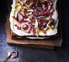 This apple cake is beautiful and delicious… Christmas Baking, Christmas Cakes, Winter Solstice, Food Styling, Goodies, Food And Drink, Healthy Recipes, Sweet, Desserts