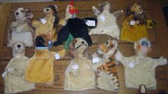 Antiques Colony: Steiff Hand Puppets