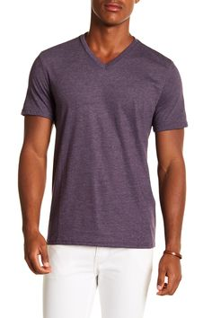 de2f68b22 Short Sleeve V-Neck Tee Public Opinion, V Neck Tee, Nordstrom Rack,