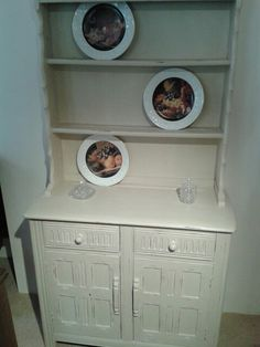 Welsh dresser painted in chalk paint and clear wax for protection.
