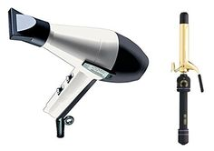 Elchim 2001 Hair Dryer Black/White with Free Hot Tools 1 Curling Iron Model 1102 Hot Tools, Curling Iron, Styling Tools, Beauty Shop, Beauty Hacks, Beauty Tips, Beauty Products, Hair Dryer, Curls