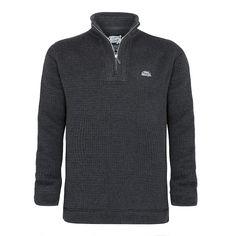 A distinctive zip sweat in a soft brushed cotton mix fabric that features a unique cross hatch design Weird Fish, Zip, Fabric, Cotton, Jackets, Clothes, Unique, Design, Fashion