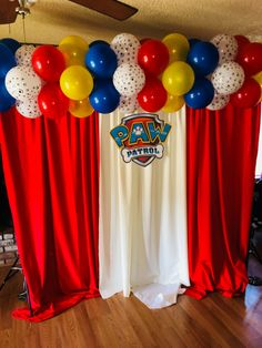 19 super baby first birthday boy paw patrol 2 Birthday, Boys First Birthday Party Ideas, 2nd Birthday Parties, Paw Patrol Birthday Decorations, Paw Patrol Birthday Theme, Toddler Christmas Gifts, Fiesta Theme Party, Balloon Decorations, First Birthdays