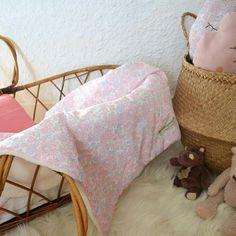 Couverture bébé en Liberty Betsy