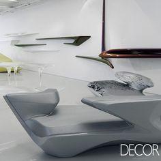 Zaha Hadid, a mais renomada arquiteta do mundo, lança artigos de presentes e decoração. Veja em: